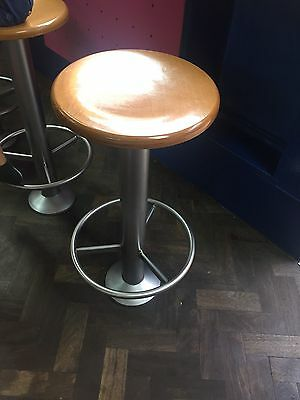 restaurant Fixed seating pubs hotels bar stools furniture cafe chrome Booth Seat