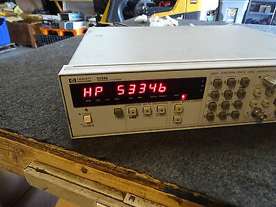 HP Agilent Keysight 5334B Universal Counter Mes.003/80 Opt 060 Passes Self-Test