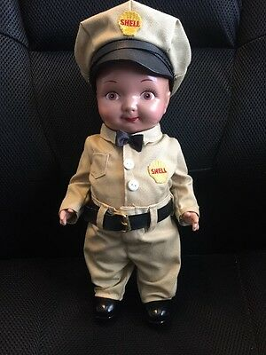 "Shell Buddy Lee 13"" Station Attendant Doll"