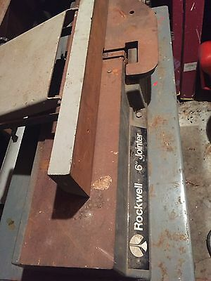 """Rockwell  6"""" Jointer"""