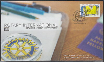 Canada #2394 57¢ Rotary International Centennial First Day Cover
