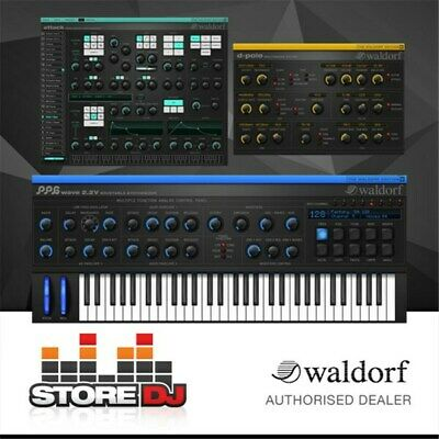 Waldorf Edition 2 Software Incl. PPG 2.2V, Attack & D Pole