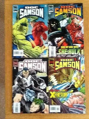 Complete Set of 4 Doc Samson comics (VF) issues 1,2,3,4 of 4 - free post