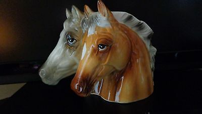 Beautiful Vintage Inarco Horse Head Planter Japan With Tags Free Shipping!