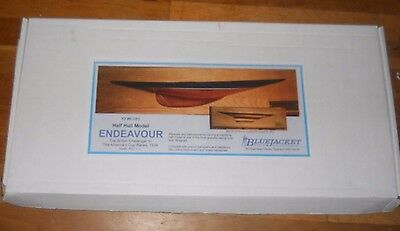 Half Hull Model Yacht Endeavour America's Cup Boat