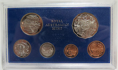 1983 Royal Australian Mint Proof Coin Set 6 Coins W/COA