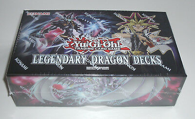 Yu-Gi-Oh - Legendary Dragon Decks - Holiday Box 2017 - NEU & OVP - Deutsch