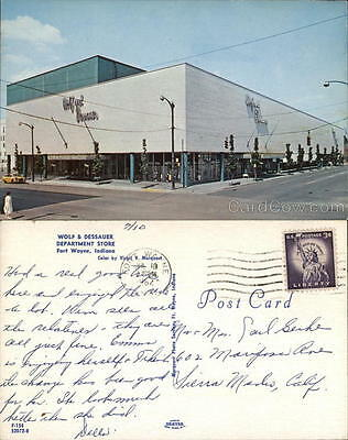 Virgil V. Marquart 1962 Fort Wayne IN Wolf & Dessauer Department Store Indiana