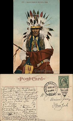 Native American 1909 Yellow Horse of the Ponca Tribe Ed. Mitchell Edward H. Mitc