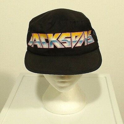 vintage unworn THE JACKSON 5 Victory Tour hat - Michael Jackson