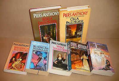 FIRST 7 INCARNATIONS OF IMMORTALITY Piers Anthony lot On a Pale Horse, more
