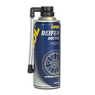 Mannol 9906 Tyres Doctor Tire Sealant Tyre Repair Roadside Assistance 450ml