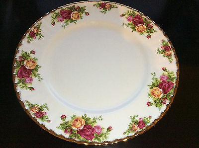 Royal Albert Old Country Roses 27cm plate Very Good Condition Marked Second
