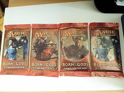 Magic The Gathering  Born Of The Gods X 4 Booster Packets