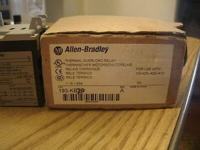 Allen Bradley Thermal Overload Relay 193-KB20