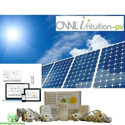 OWL Intuition-PV 3 Phase Solar Panel Monitoring System (Max 200A / Phase Type 2)