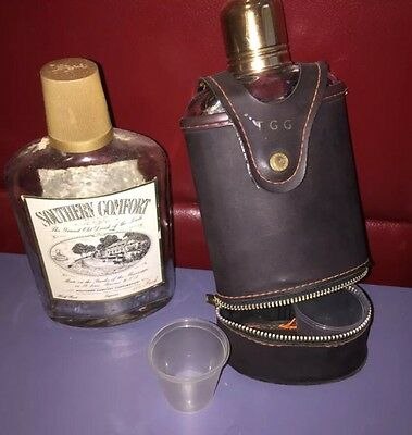 Antique Whiskey Bottles (Southern Comfort)