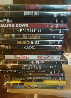 Lot of  16 DVDS