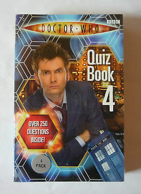 Doctor Who Bbc 4 Pack Quiz Books - Paperbacks - New And Sealed