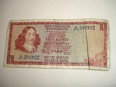 1967 One Rand South Africa Note