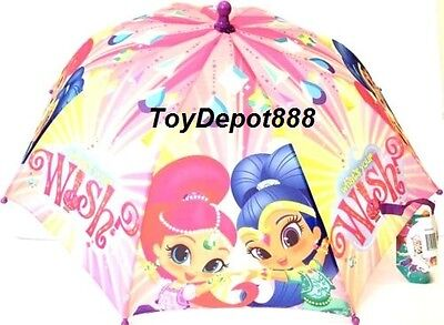 New Arrive 2016 Nickelodeon Shimmer And Shine Umbrella - Pink
