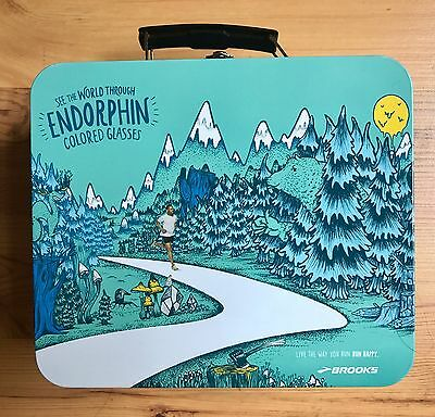 Brooks Running Shoes Promotional Lunchbox Advertising Promo Limited Edition RARE