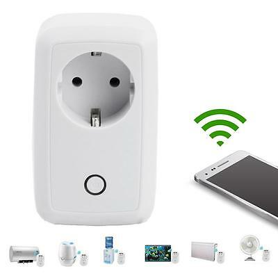 Smart WiFi Remote Control Timer Switch Power Socket EU Plug For Cellphone NEW TL