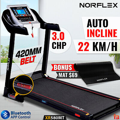 NEW NORFLEX 3.0CHP Treadmill Auto Incline Exercise Equipment Electric Motor