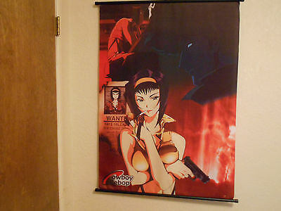 Cowboy bebop Wall Scroll 41 1/2 inches by 29 inches