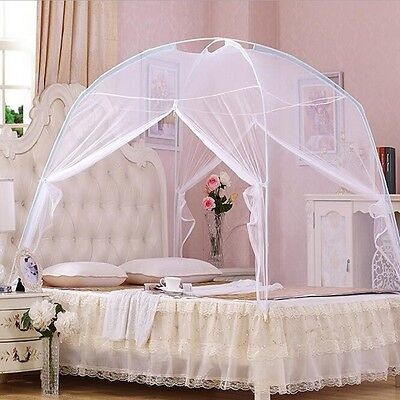 Portable Freestand Bed Canopy Mosquito Net Tent For Queen King Size 150X200cm