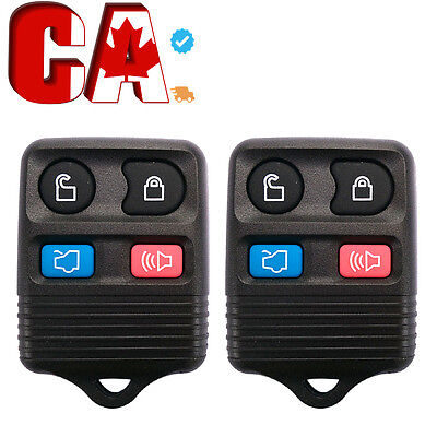 2 X  New Replacement Keyless Entry Remote Key Fob Transmitter Fit For CWTWB1U331