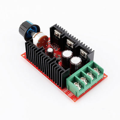 2000W 40A 12V 24V 48V MAX 10-50V DC Motor Speed Control PWM HHO RC Controller GY