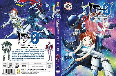 ANIME DVD~ID-0(1-12End)English subtitle&All region FREE SHIPPING+FREE GIFT