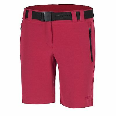 CMP Functional pants Bermuda Shorts pink Belt UV protection Dryfunction