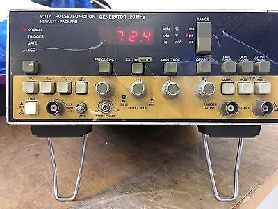 Ex Mod HP 8111A Pulse Function Generator 20MHz Option 001