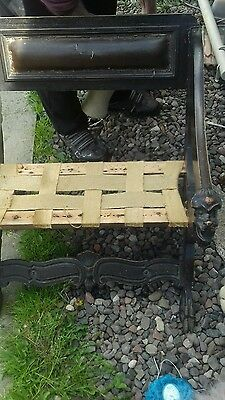 Antique Carved Chair With Heads