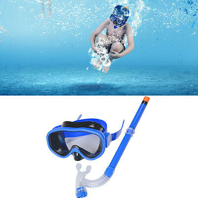 New Children Swimming Glasses With Snorkel Kids Diving Glass Breathing Tube Set