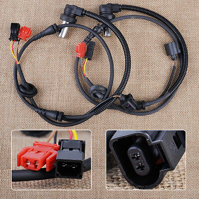 Front ABS Wheel Speed Sensor 8D0927803D 4B0927803C For Audi A6 C5 VW Passat B5