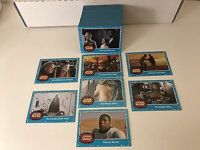 Star Wars Journey to the Force Awakens - Complete Card Set (1-110) @ Near Mint