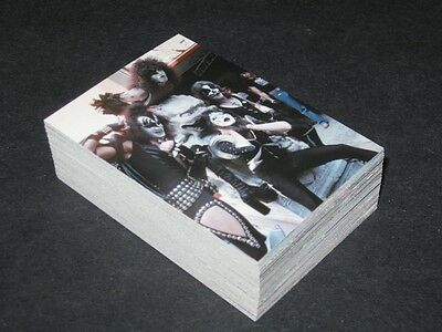 KISS Alive - Complete Card Set (1-72) - 2001 NECA @ Near Mint