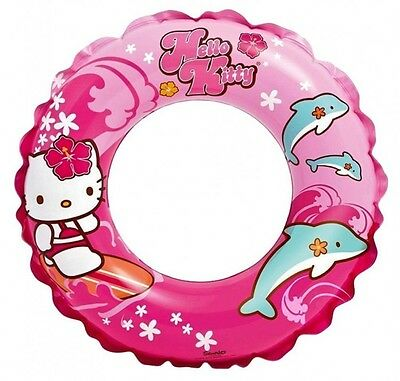 "NEW Hello Kitty Swim Ring, 20"" Diameter, for Kid's Ages 3-6"