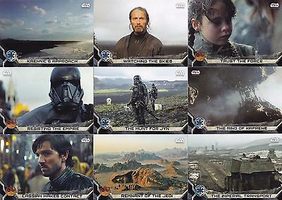 Star Wars Rogue One Series 2 - Complete Card Set (1-90) 2016 Topps @ Near Mint