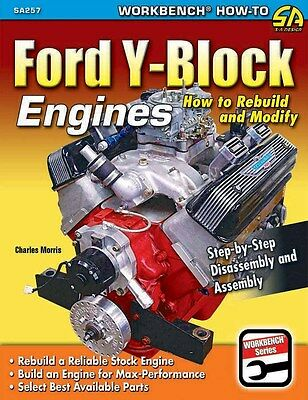 S-A Books Ford Y-Block Engines: How to Rebuild and Modify P/N 257