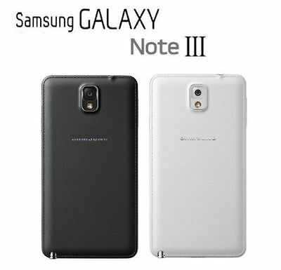 Original Samsung Battery Door Back Cover for Galaxy Note 3 N9000 N9005 Replcment
