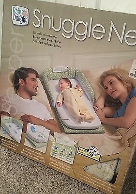 Baby Delight Snuggle Nest Portable Infant Sleeper NEW Makes a great shower gift!
