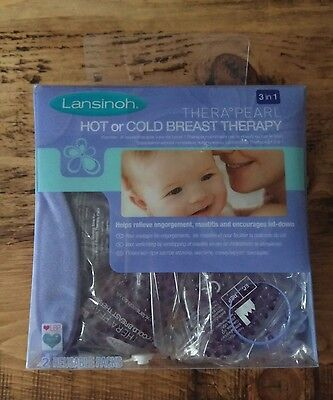 BNIP : Lansinoh TheraPearl 3-in-1 Hot or Cold Breast Therapy