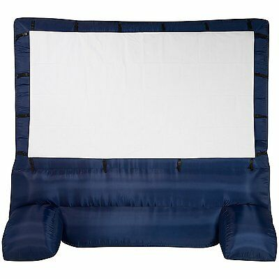Gemmy 12 ft. Inflatable Widescreen Airblown Deluxe Movie Screen, 39127-32