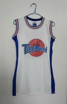 NEW Space Jam Lola Bunny #10 LOONEY TOONES Tune Squad Jersey Women DRESS Ladies
