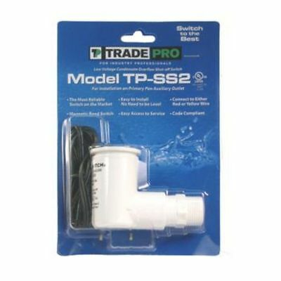 TRADEPRO® -Safe-T-Switch SS2 drain outlet Condesate shut off float switch