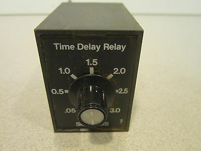 SSAC Time Delay Relay TRM120A2Y3 120V AC **Great Deal!**